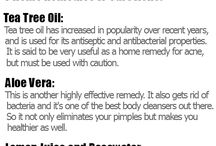 Great Acne Pins / Pins about acne remedies