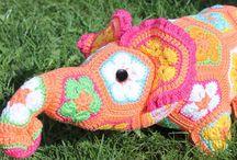 """@happy.crochet """"Зверье мое"""""""
