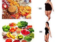 dieta e salute / by Sabrina Noviello