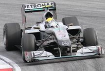 F1 - Mercedes GP Petronas MGP W01 2010 / Drivers - Michael Schumacher and Nico Rosberg.