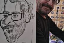 caricature live