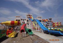 Sunset Resort Water Park - Construction Updates - 18.04.2016