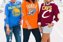 NBA GEAR / Look for stylish courtside apparel. We've got something for everyone!