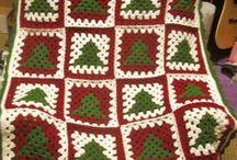 christmas háčkování,pletení