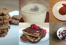 gezonde ontbijtjes / recepten voor gezonde ontbijten
