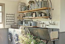 Farmhouse laundry  / by Cynthia Lawson