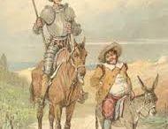 El Quijote / Imágenes sobre Cervantes y El Quijote