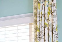 Window & Drapery Treatments / Different looks and treatments for your windows, whether dressing them up or blocking out the sun.