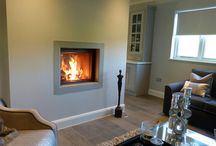 Inset Stoves / Take a look at our gallery of inset wood burning stoves all supplied by Topstak. A stylish solution to heating your home.  www.topstak.co.uk