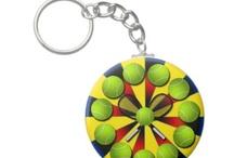 tennis key chains / by Elizabeth Wilson