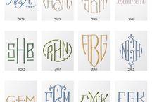 fonts + lettering.