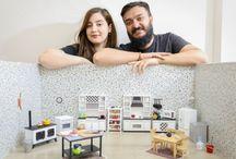 """Türk mutfağının en mini hali: Mini Türk Mutfağı / Burcu Aydın ve Anıl Aydın çiftinin bir amacı var: Türk mutfağını dünyaya farklı bir yöntemle tanıtmak. Bunu """"Mini Türk Mutfağı"""" projesiyle gerçekleştiriyorlar."""