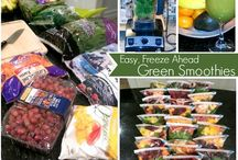 FOOD-- Vitamix, Smoothie and Juicing Recipes / by Olivia Odom