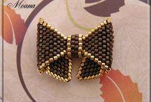 beaded bow