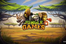 We love Jungle Games! / Log in to #play the Sports-crazed African wildfire - themed Jungle Games™ video slot