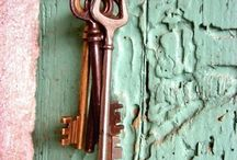 Locks and Keys / by Kathy Walter