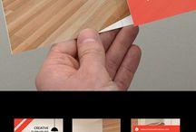 3つ折り デザイン 参考
