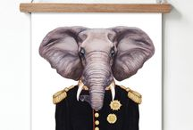Ζώα/ Πορτρέτα αφίσες