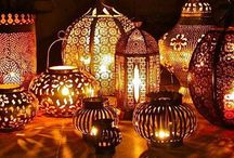 Moroccan Laterns & Lamps ❤