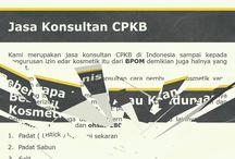 JASA KONSULTAN PENYUSUNAN DOKUMEN DAN SERTIFIKASI CPKB / Jasa konsultan izin edar kosmetik   Abapabila perusahaan anda membutuhkan jasa konsultan dokumen sertifikasi cpkb kosmetik mulai dari implementasi standard gmp sampai registrasi produk ke BPOM baik itu lokal ataupun import, silahkan menghubungi kami.   DP Konsultan STC Senayan Lt 4 ruang 31-34 Jl. Asia afrika-Gelora senayan-Jakarta Pusat 10270 Telp : 021 92795135 / 0813801 63185 Email : info@dpkonsultan.com Youtube: https://youtu.be/dccNtKaCRo8