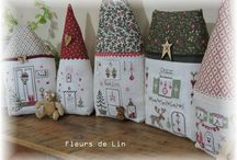 maisons broderie