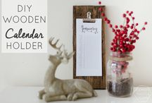 Wooden Calendar Ideas