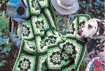 Crochet afghans / Virkade filtar