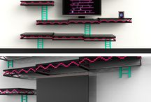 Office Game Wall / by Laurie Street