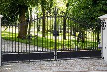 Ogrodzenie kute MO-20/ wrought fence MO-20