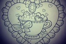 """Tea tattoo ideas / idee per il mio tatuaggio con soggetto  """" L'ora del te """""""