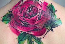 Rose tattoos / My wonderful rose tattoo collection.