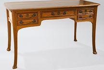 Muebles Art Nouveau / Mobiliario de estilo Art Nouveau.