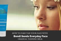 How to fake tan your face with Bondi Sands Everyday Face Gradual Tanning Milk / Self tanning the face can be tricky, and filled with challenges.  Luckily the Bondi Sands Everyday Face Gradual Tanning Milk helps you gradually build up a natural looking golden glow. Check out our blog to learn more about this product and how to use it.