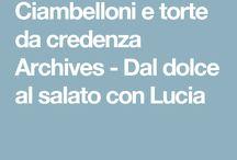 le ricette di Lucia
