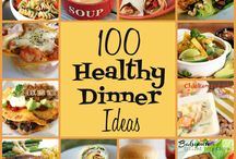100 healthy dinner ideas.....