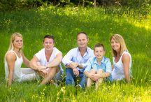 Familjefotografering utomhus