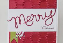 Christmas cards & tags / Stampin' Up!