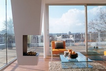 Living Room- Modern Fireplaces