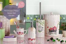 Dekoryon Banyo Setleri / Banyonuzu güzelleştirecek yüzlerce renk ve tasarıma sahip ürünler Dekoryon'da