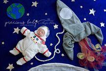 Photo Baby Asttronaut
