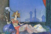 ArtRead | Arabian Nights / Scheherazade's 1001 Date Nites / by Shay Brooks