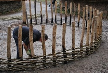 Hazel hurdles / coppice craft