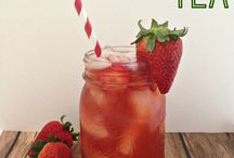 teas. & Smoothies / Recipes for teas  (iced or hot) / by Lanie Miller