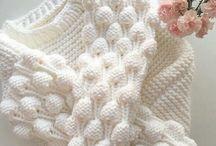 bebiş örgü kıyafet