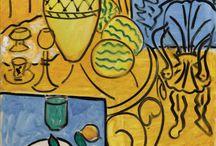 Blue + Yellow Art / Blue + Yellow Paintings