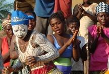 Year 9 - African Art - Body Art / by Meridian Art Department