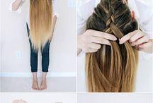 härliga hår