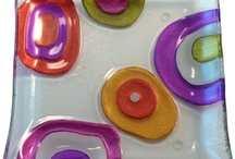 Fused glass Cabochon