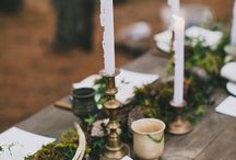 Ślub - Dekoracje stołu