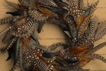 Art made with feathers